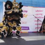 AMW_Choy Lee Fut Polska_Festiwal Marzeń Dziecięcych - pokaz grupy Choy Lee Fut Kung Fu - taniec lwa