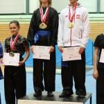 AMW_Choy Lee Fut Polska_Puchar Polski Wushu _dekoracja medalowa_Piotr Stachowicz oraz Jakub Leszczyński
