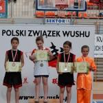 AMW_Choy Lee Fut Polska_Puchar Polski Wushu 2011_Ola Ostaszewska_dekoracja medalowa