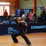 AMW_Choy Lee Fut Polska_III Festiwal Chińskich Sztuk Walki, Puchar Polski Kung Fu/Wushu 6.11.2011 Kraków_Piotr Stachowicz_forma z szablą