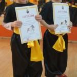 Egzaminy na wyższe stopnie kung fu choy lee fut - najmłodsi wojownicy
