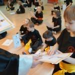 Egzaminy na wyższe stopnie kung fu choy lee fut - rozdanie dyplomów