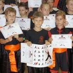 Egzaminy na wyższe stopnie kung fu choy lee fut - wyróżnienia