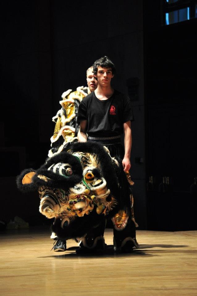 AMW_Choy Lee Fut Polska_Obchody Chińskiego Nowego Roku - Auditorium Maximum UJ - pokaz Tańca Lwa