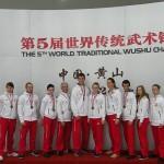 Drużyna Choy Lee Fut Polska - dekoracja medalowa