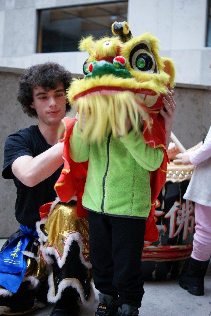 Chiński Nowy Rok_Auditorium Maximum_warsztaty tańca lwa